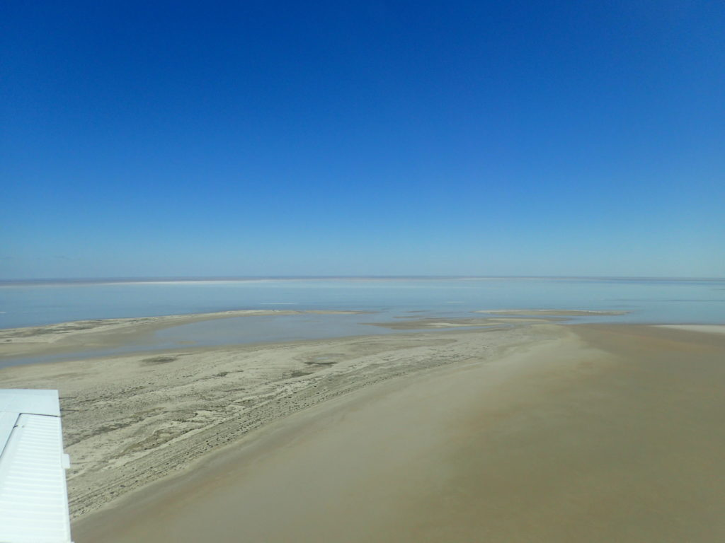 South end of Lake Eyre.